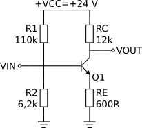 Amplificador do exemplo 1